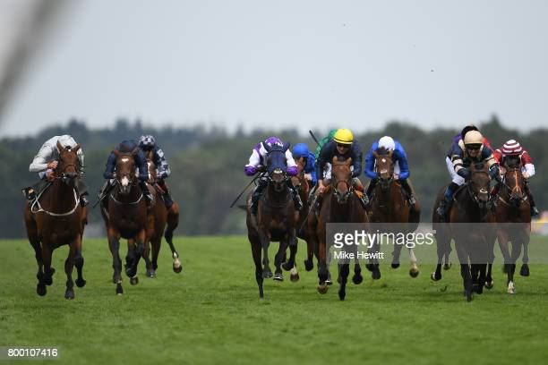 William Buick on Permian wins the King Edward VII Stakes on Day Four of Royal Ascot at Ascot Racecourse on June 23 2017 in Ascot England