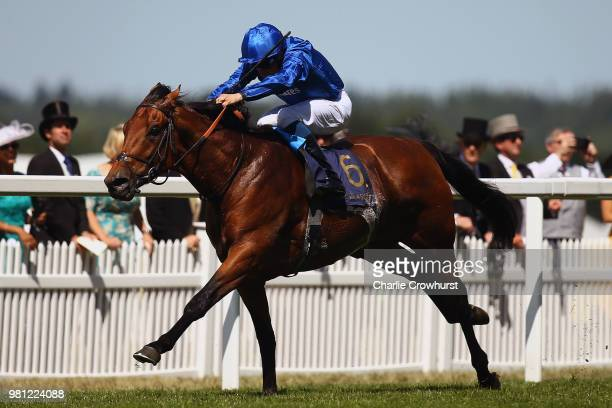 William Buick rides Old Persian to win The King Edward VII Stakes on day 4 of Royal Ascot at Ascot Racecourse on June 22 2018 in Ascot England