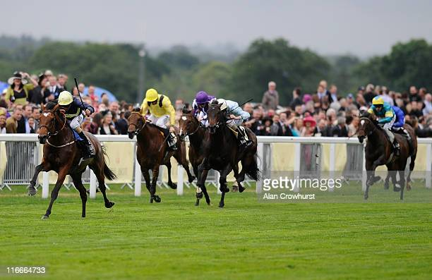William Buick riding Nathaniel win the King Edward VII Stakes during day four of Royal Ascot at Ascot racecourse on June 17 2011 in Ascot England