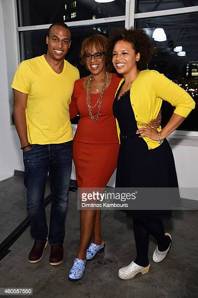 William Bumpus Gayle King and Kirby Bumpus attend the O Magazine surprise celebration for Gayle King's 60th birthday on December 16 2014 in New York...