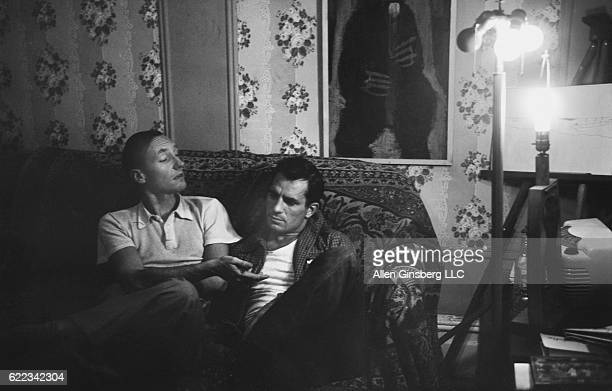 William Burroughs Jack Kerouac NYC Fall 1953 But Jack I've told you over and over if you continue your present pattern of living with your memere...