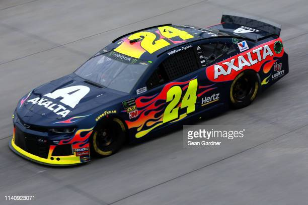 William Byron driver of the Axalta Chevrolet practices for the Monster Energy NASCAR Cup Series Gander RV 400 at Dover International Speedway on May...