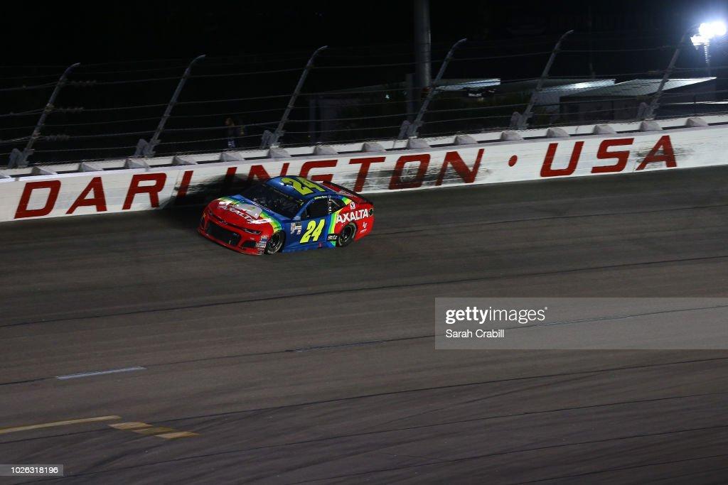 Monster Energy NASCAR Cup Series Bojangles' Southern 500 : News Photo