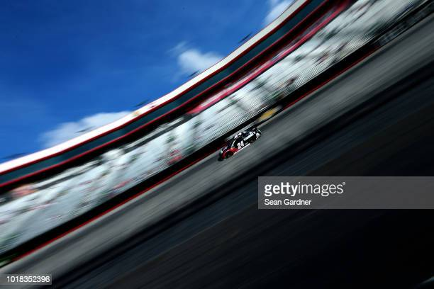 William Byron driver of the Liberty University Chevrolet drives during qualifying for the Monster Energy NASCAR Cup Series Bass Pro Shops NRA Night...