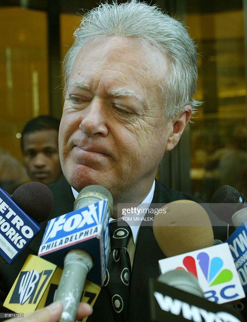 William Cannon, lead defense attorney for accused : News Photo