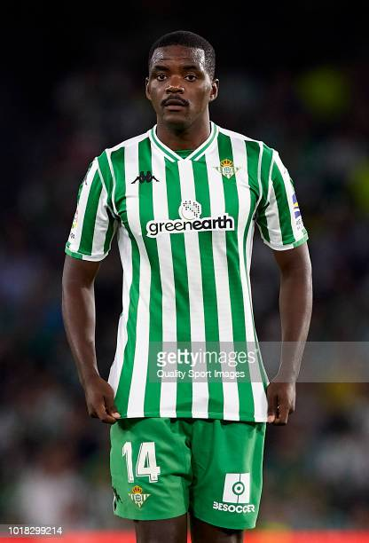 William Carvalho of Betis looks on during the La Liga match between Real Betis Balompie and Levante UD at Estadio Benito Villamarin on August 17 2018...