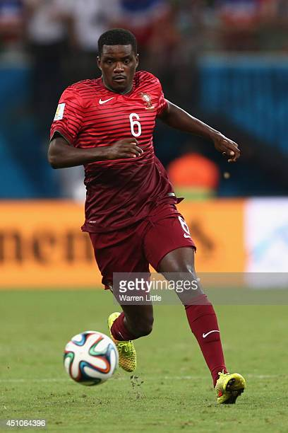William Carvalho of Portugal controls the ball during the 2014 FIFA World Cup Brazil Group G match between the United States and Portugal at Arena...