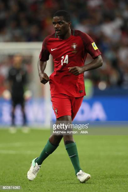 William Carvalho of Portugal in action during the FIFA Confederations Cup Russia 2017 SemiFinal match between Portugal and Chile at Kazan Arena on...