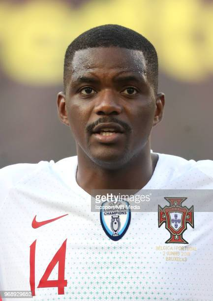 William CARVALHO pictured during a friendly game between Belgium and Portugal as part of preparations for the 2018 FIFA World Cup in Russia on June 2...