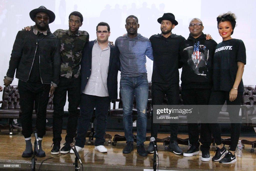 "Compton High School Student Screening Of Open Road Films' ""Marshall"""