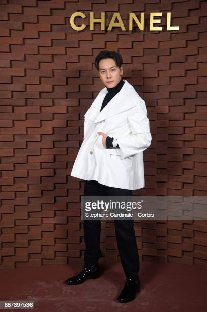 William Chan attends the Chanel Collection Metiers d'Art Paris Hamburg 2017/18 at The Elbphilharmonie on December 6 2017 in Hamburg Germany