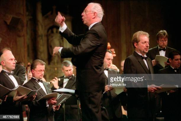 William Christie leading Les Arts Florissants in the music of Marc-Antoine Charpentier at the Church of St. Ignatius Loyola on Friday night, December...