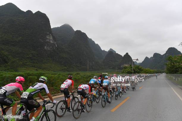 William Clarke of Australia and Team Education FirstDrapac P/B Cannondale / Nicholas Dougall of South Africa and Team Dimension Data / Sander Armee...