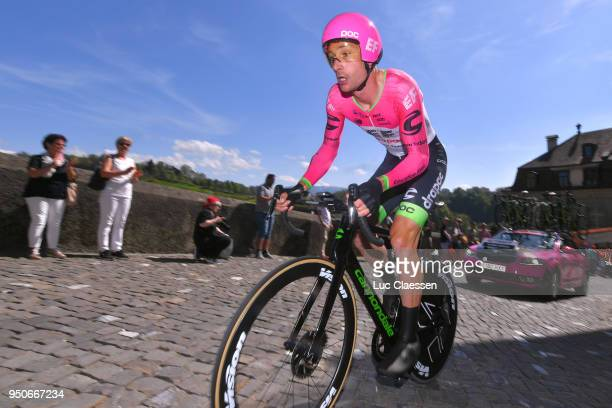 William Clarke of Australia and Team EF Education First-Drapac p/b Cannondale / during the 72nd Tour de Romandie 2018, Prologue a 4km individual time...