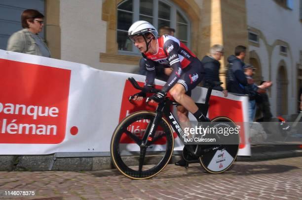 William Clarke of Australia and Team Trek - Segafredo / Cobblestones / during the 73rd Tour de Romandie 2019, Prologue a 3,87km Individual Time Trial...