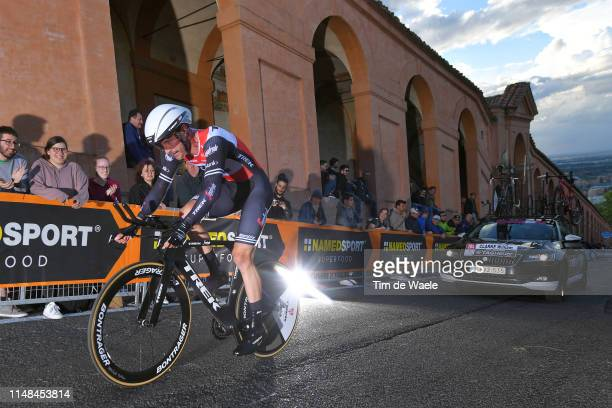 William Clarke of Australia and Team Trek - Segafredo / during the 102nd Giro d'Italia 2019, Stage 1 a 8km Individual Time Trial from Bologna to San...