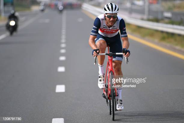 William Clarke of Australia and Team Trek - Segafredo / during the 6th UAE Tour 2020, Stage 4 a 173km stage from Zabeel Park to Dubai City Walk 419m...