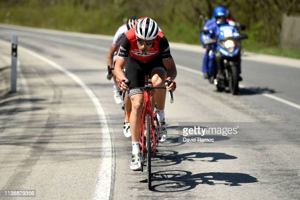 William Clarke of Australia and Team Trek - Segafredo / during the 99th Volta Ciclista a Catalunya 2019, Stage 4 a 150,3km stage from Llanars - Vall...