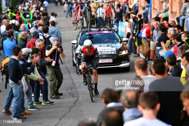 William Clarke of Australia and Team Trek - Segafredo / Public / Fans / Landscape / during the 102nd Giro d'Italia 2019, Stage 1 a 8km Individual...