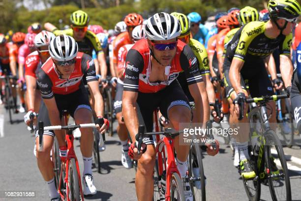 William Clarke of Australia and Team Trek-Segafredo / during the 21st Santos Tour Down Under 2019 , Stage 1 a 129km stage from Adelaide to Adelaide /...
