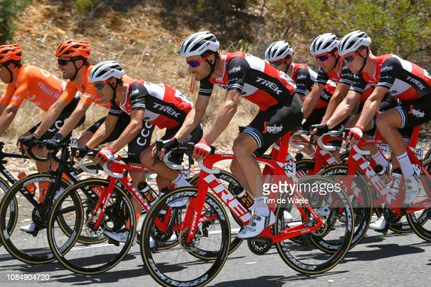William Clarke of Australia and Team TrekSegafredo / Richie Porte of Australia and Team TrekSegafredo / Ryan Mullen of Ireland and Team TrekSegafredo...