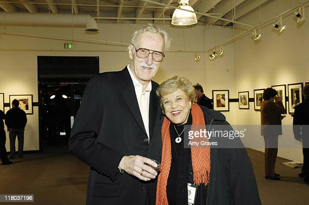 William Claxton and Kay Ballard during 18th Annual Palm Springs International Film Festival - Blow-Up Photography Exhibit Reception at M Modern...