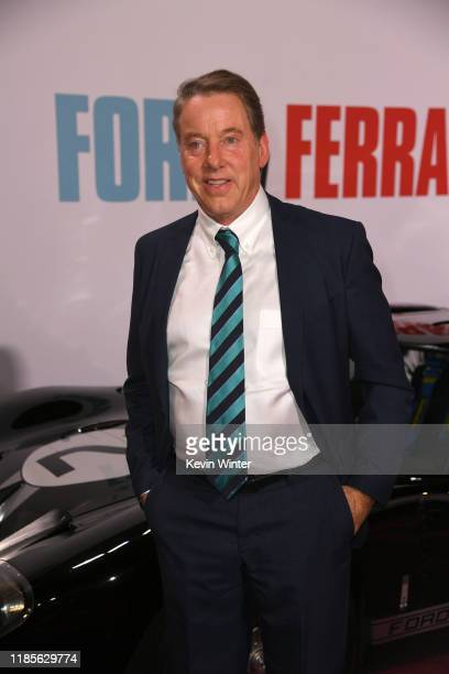 William Clay Ford Jr arrives at the premiere of Fox's Ford V Ferrari at the TCL Chinese Theatre on November 04 2019 in Hollywood California