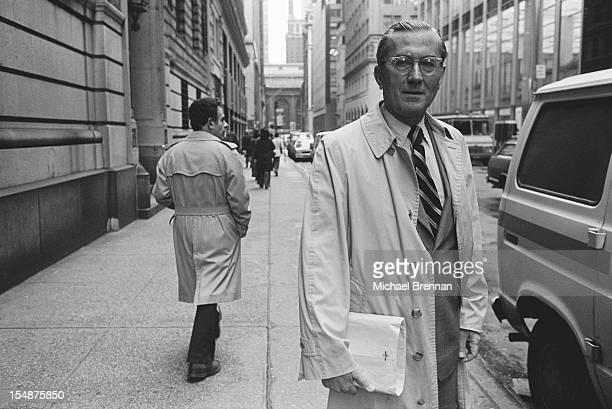 William Colby Director of Central Intelligence at the CIA from 19731976 New York City February 1988