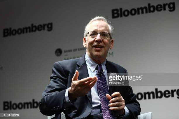William Dudley president and chief executive officer of the Federal Reserve Bank of New York speaks during the Bank of England's Markets Forum at...