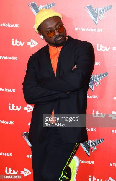 William during The Voice UK 2019 launch at W hotel Leicester Square on January 03 2019 in London England