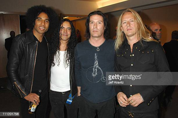 William DuVall Mike Inez Sean Kinney and Jerry Cantrell of Alice in Chains