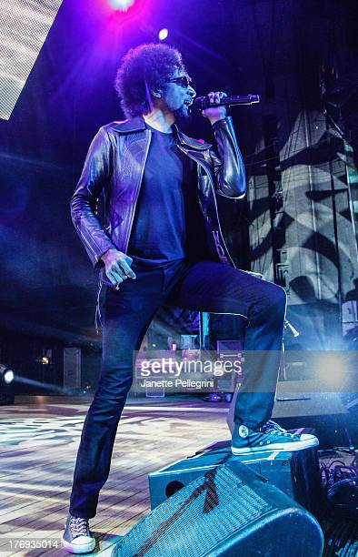 William DuVall of Alice in Chains performs during the 2013 Rockstar Energy UPROAR Festival at Nikon at Jones Beach Theater on August 18, 2013 in...
