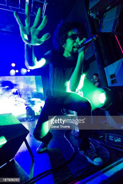 William DuVall of Alice In Chains performs on stage at O2 Academy Birmingham on November 13 2013 in Birmingham United Kingdom