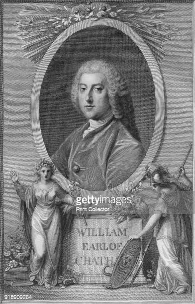 'William Earl of Chatham' 1790 William Pitt 1st Earl of Chatham British statesman of the Whig group who led the government of Great Britain twice in...