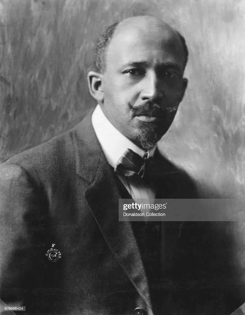 William Edward Burghardt Du Bois aka W.E.B Du Bois poses for a portait on May 31, 1919.