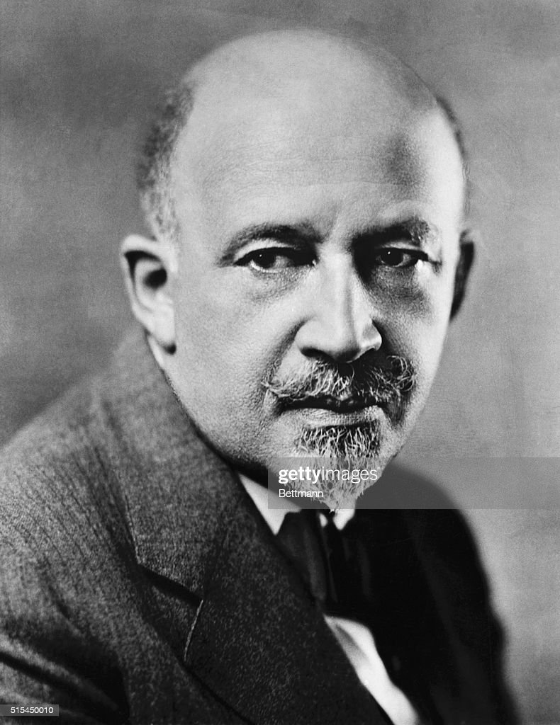 William Edward Burghardt DuBois (1868-1963), American educator and writer and one of the founders of the National Association for the Advancement of Colored People (NAACP). Undated photograph.