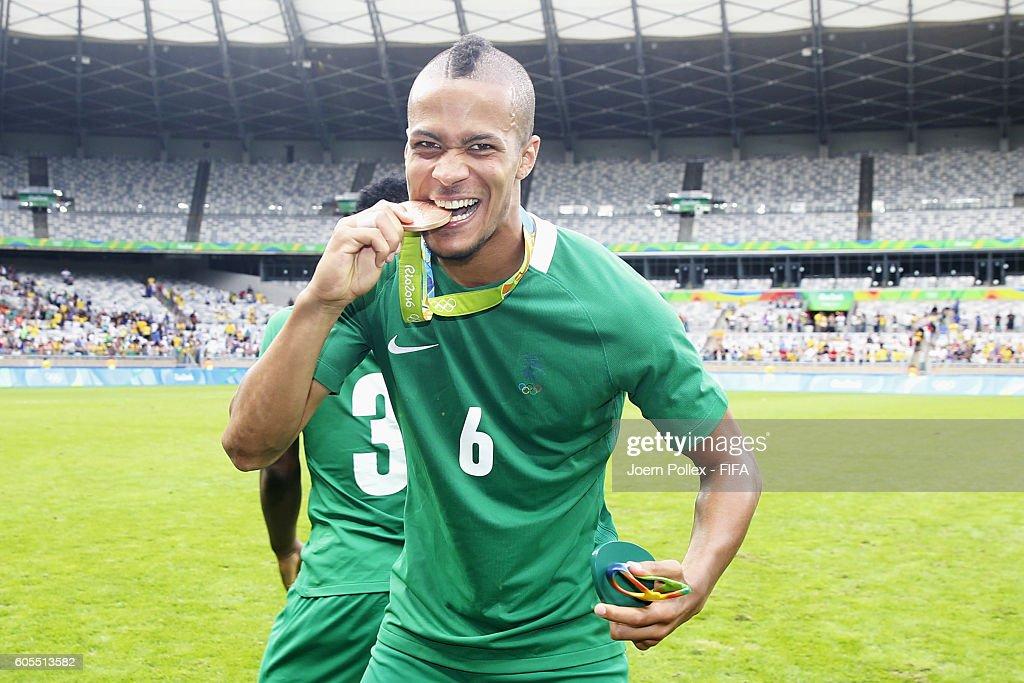 Honduras v Nigeria Bronze Medal Match: Men's Football - Olympics: Day 15 : News Photo