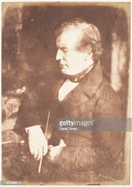 William Etty, 1843-47, Salted paper print from paper negative, Photographs, David Octavius Hill , Robert Adamson .