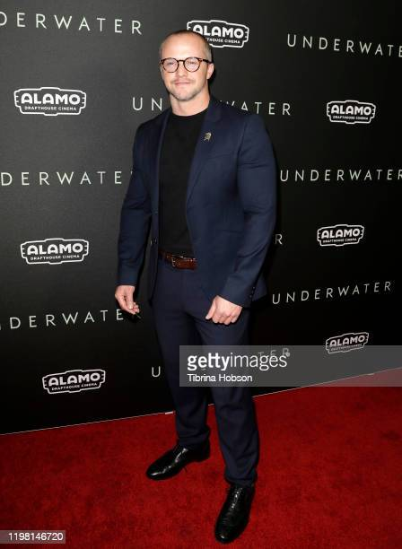 """William Eubank attends a special fan screening of 20th Century Fox's """"Underwater"""" at Alamo Drafthouse Cinema on January 07, 2020 in Los Angeles,..."""