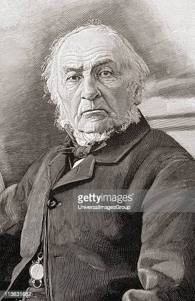 William Ewart Gladstone 1809 to 1898 British Liberal Party statesman and four times Prime Minister of the United Kingdom From the book Gladstone The...