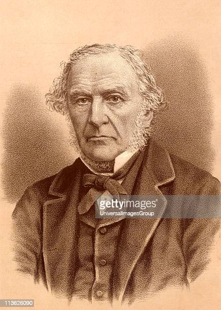 William Ewart Gladstone statesman and fourtime prime minister of Great Britain From a photograph by Elliott and Fry