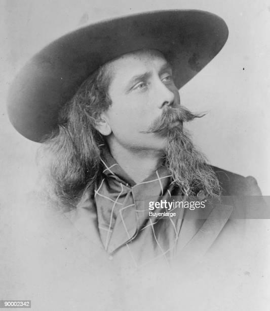 William F Cody Buffalo Bill Portrait