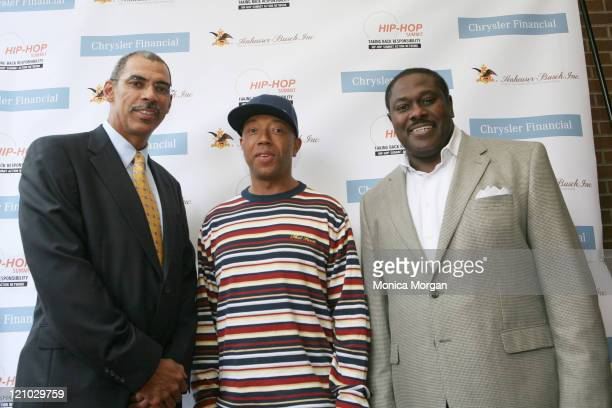 William F Jones Vice President of Chrysler Financial Russell Simmons and Johnny FurrVice President AnheuserBusch of Urban Marketing Affairs