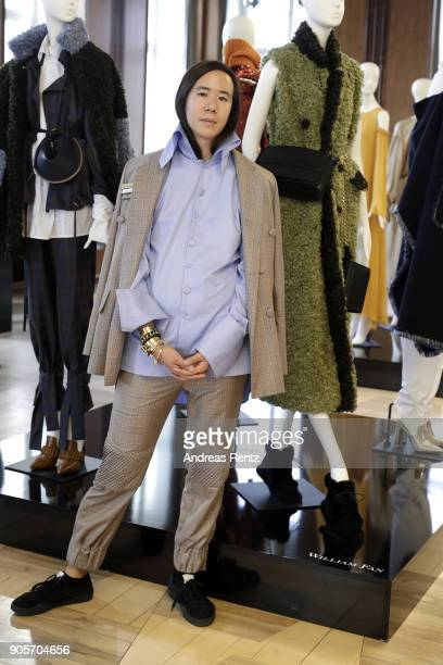 William Fan attends the Vogue Salon during 'Der Berliner Salon' AW 18/19 at Kronprinzenpalais on January 16 2018 in Berlin Germany