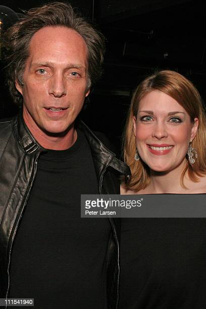 William Fichtner and guest during Rockmond Dunbar's Birthday Party at SUITE in Dallas at SUITE in Dallas Texas United States