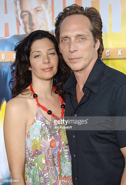 William Fichtner and guest during 'The Longest Yard' Los Angeles Premiere Arrivals at Grauman's Chinese Theater in Hollywood California United States