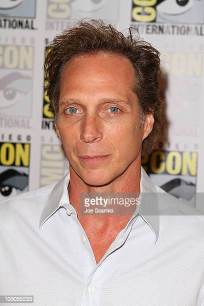 William Fichtner arrives to the Drive Angry 3D press room on Day 2 of 2010 Comic-Con International at San Diego Convention Center on July 23, 2010 in...