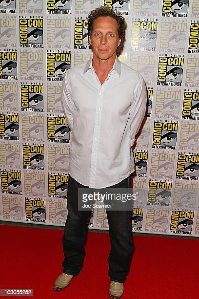 William Fichtner arrives to the Drive Angry 3D press room on Day 2 of 2010 ComicCon International at San Diego Convention Center on July 23 2010 in...