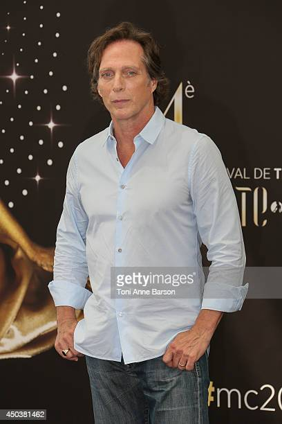 William Fichtner attends 'Crossing Lines' Photocall at the Grimaldi Forum on June 10 2014 in MonteCarlo Monaco