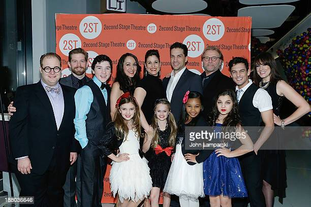 William Finn Josh Lamon Bill Heck Logan Rowland Jennifer Sanchez Stephanie J Block Will Swenson David Rasche and Jeremy Jorda Hannah Rose Nordberg...